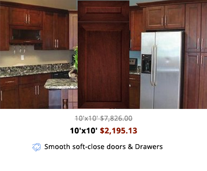 Swell Cg Cabinet Cherry Shaker Style Kitchen Cabinets Online Beutiful Home Inspiration Truamahrainfo